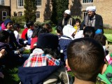 Habib Kadhim Visiting the children 1